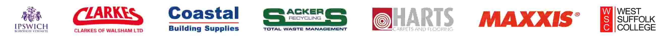 Armafone business customer logos