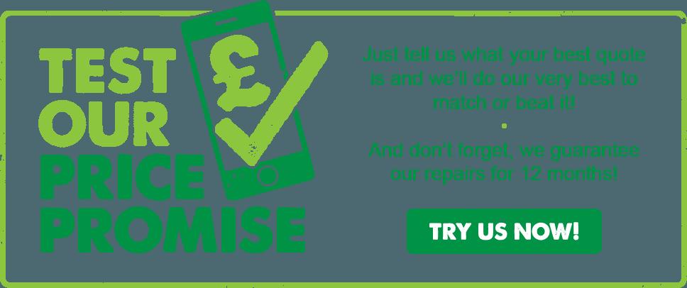phone repair ipswich price promise image