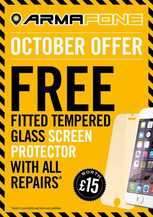Free Tempered Glass Offer