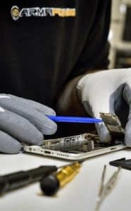 Image showing a business phone repair in progress by ArmaFone