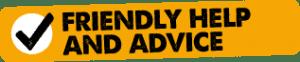 Frindly Help and Advice Logo
