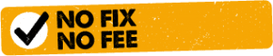 No Fix - No Fee Policy Logo