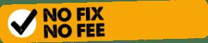 No Fix - No Fee Policy Logo