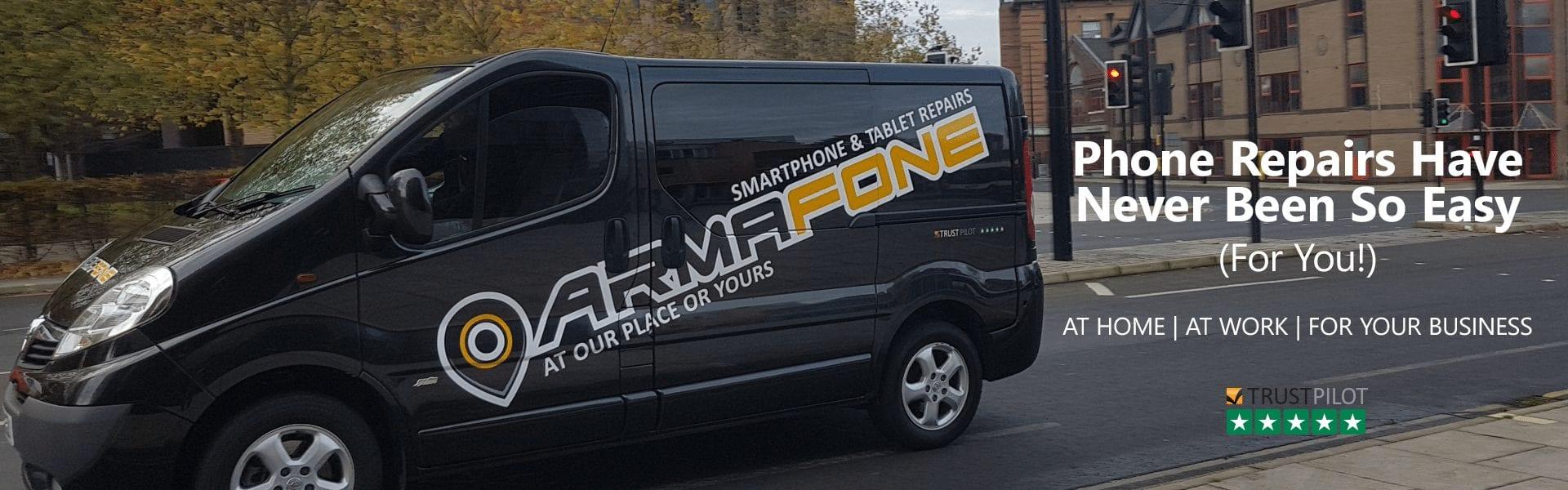 ArmaFone phone repair call out service header image