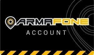 ArmaFone account card
