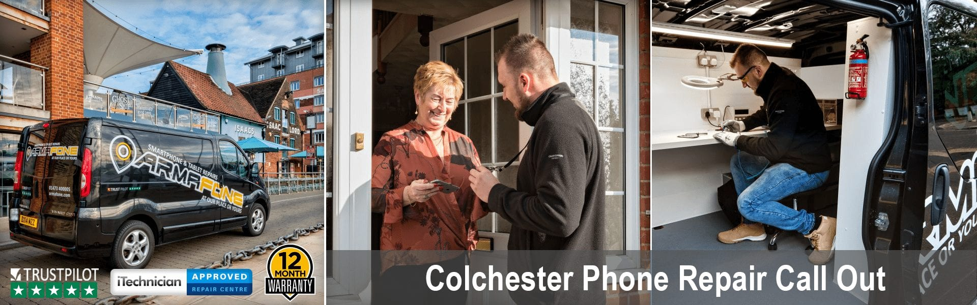 Colchester phone repair header image