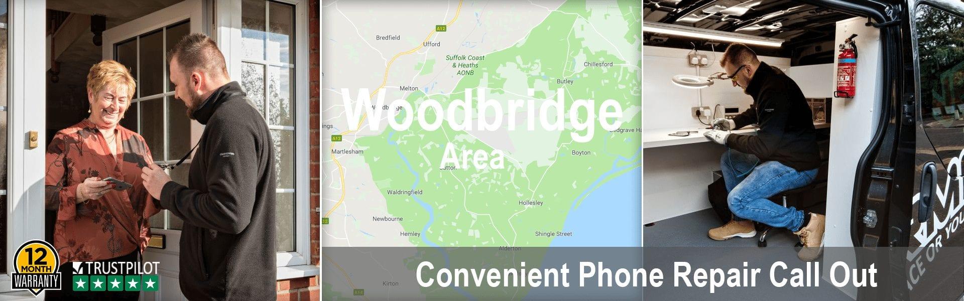 Woodbridge phone repair by ArmaFone header image