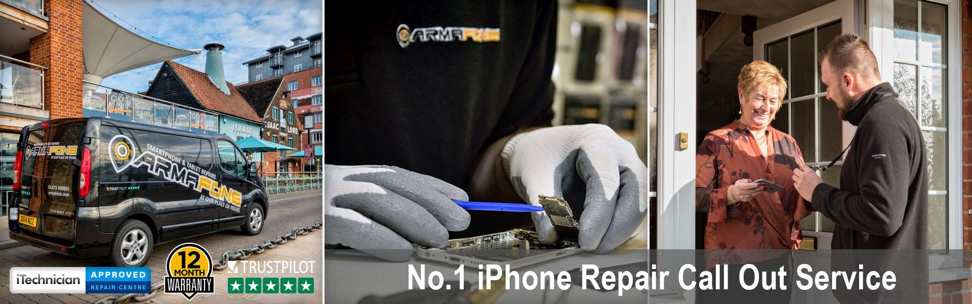 iphone repair call out service header image