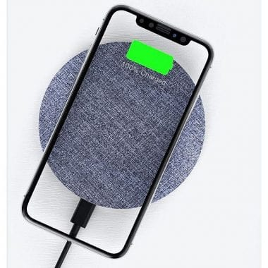 Wireless vs Wired Charging - Featured Image with Wireless Charger